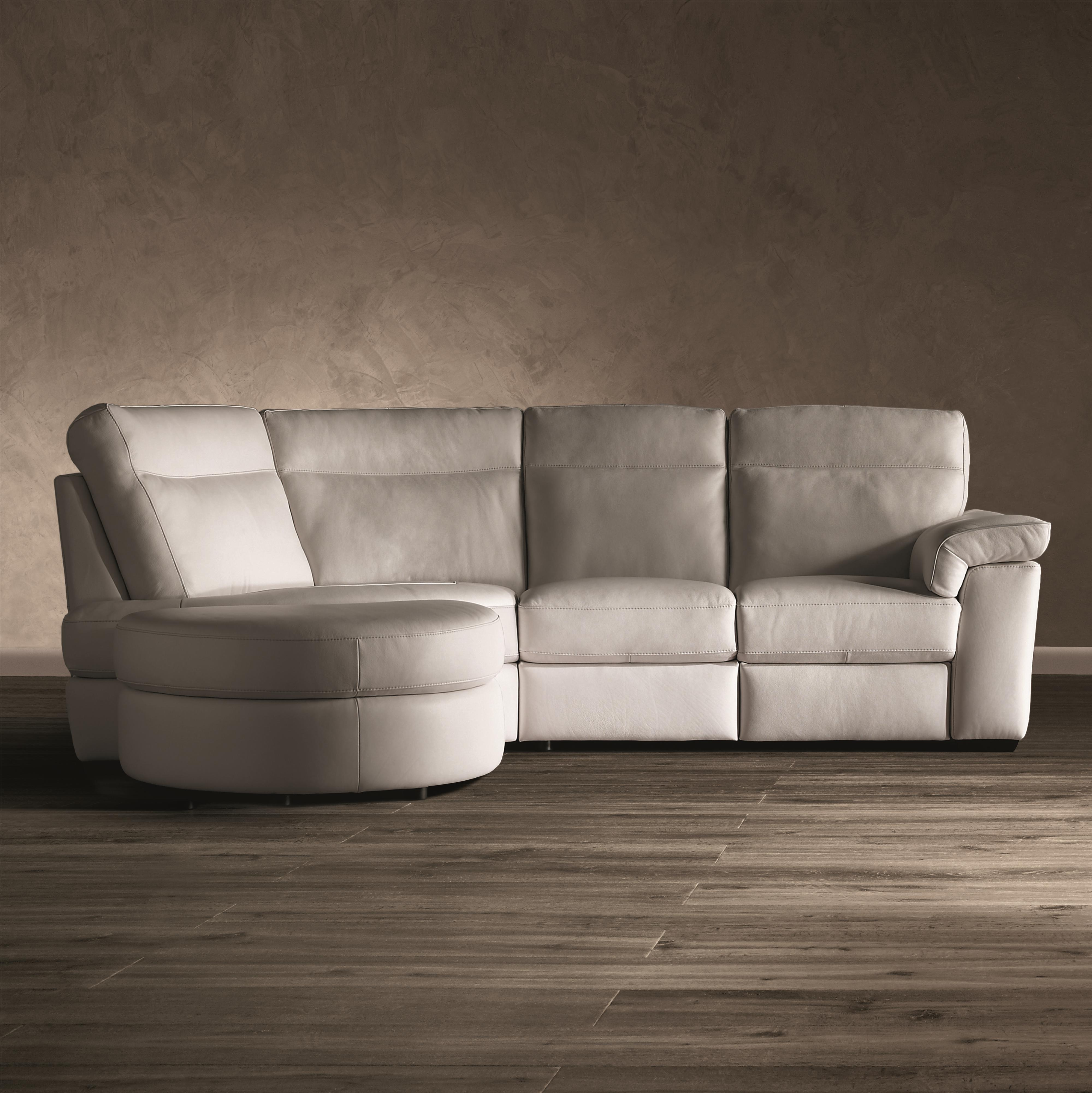 B757 3 Pc Stationary Sectional Sofa by Natuzzi Editions at Williams & Kay