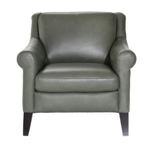 Contemporary Chair with Tapered Legs