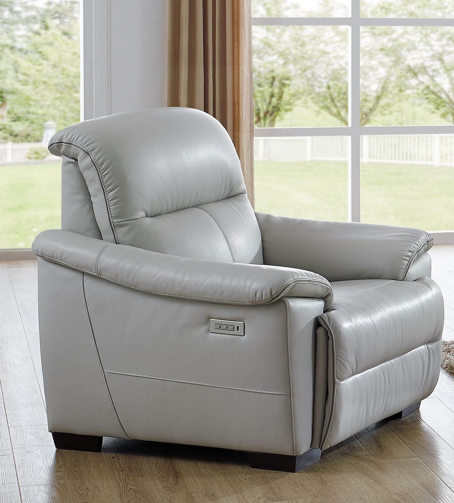 Potenza Wall Hugger Power Recliner by Natuzzi Editions at Baer's Furniture