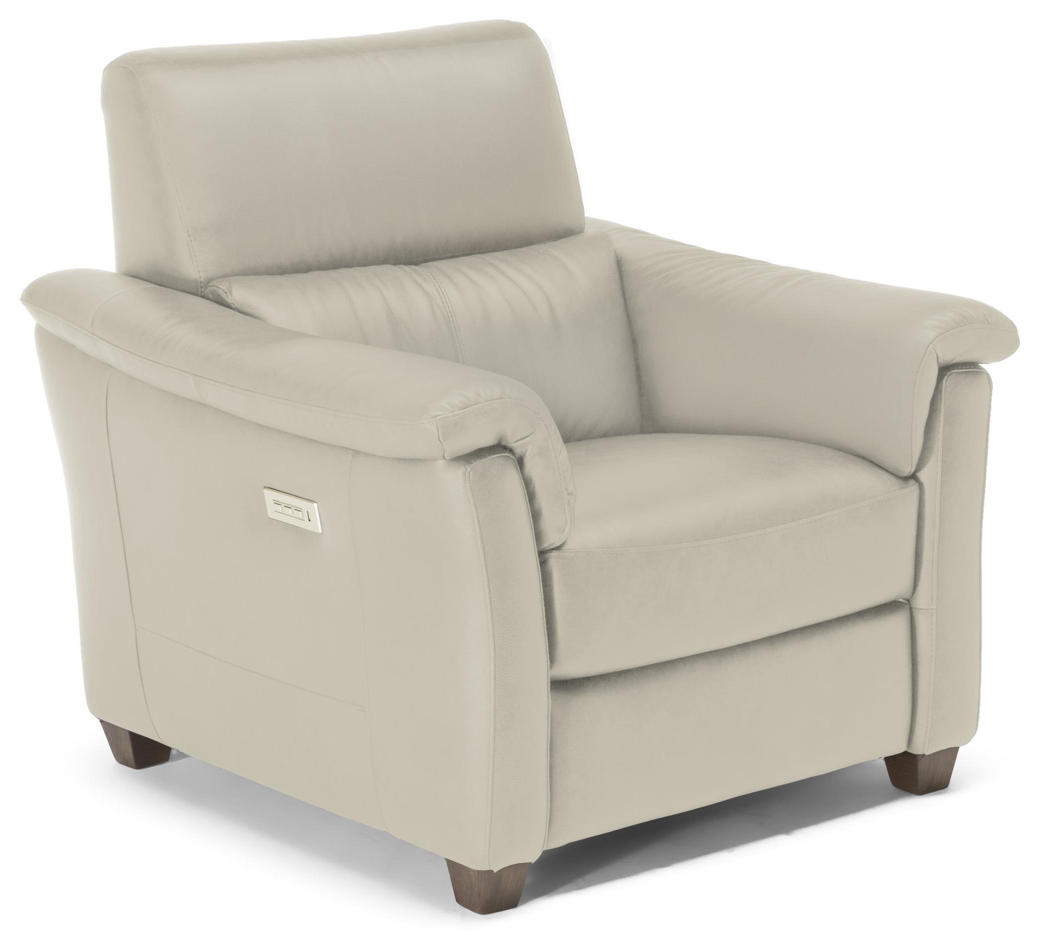 Astuzia Leather Triple Power Recliner by Natuzzi Editions at Baer's Furniture