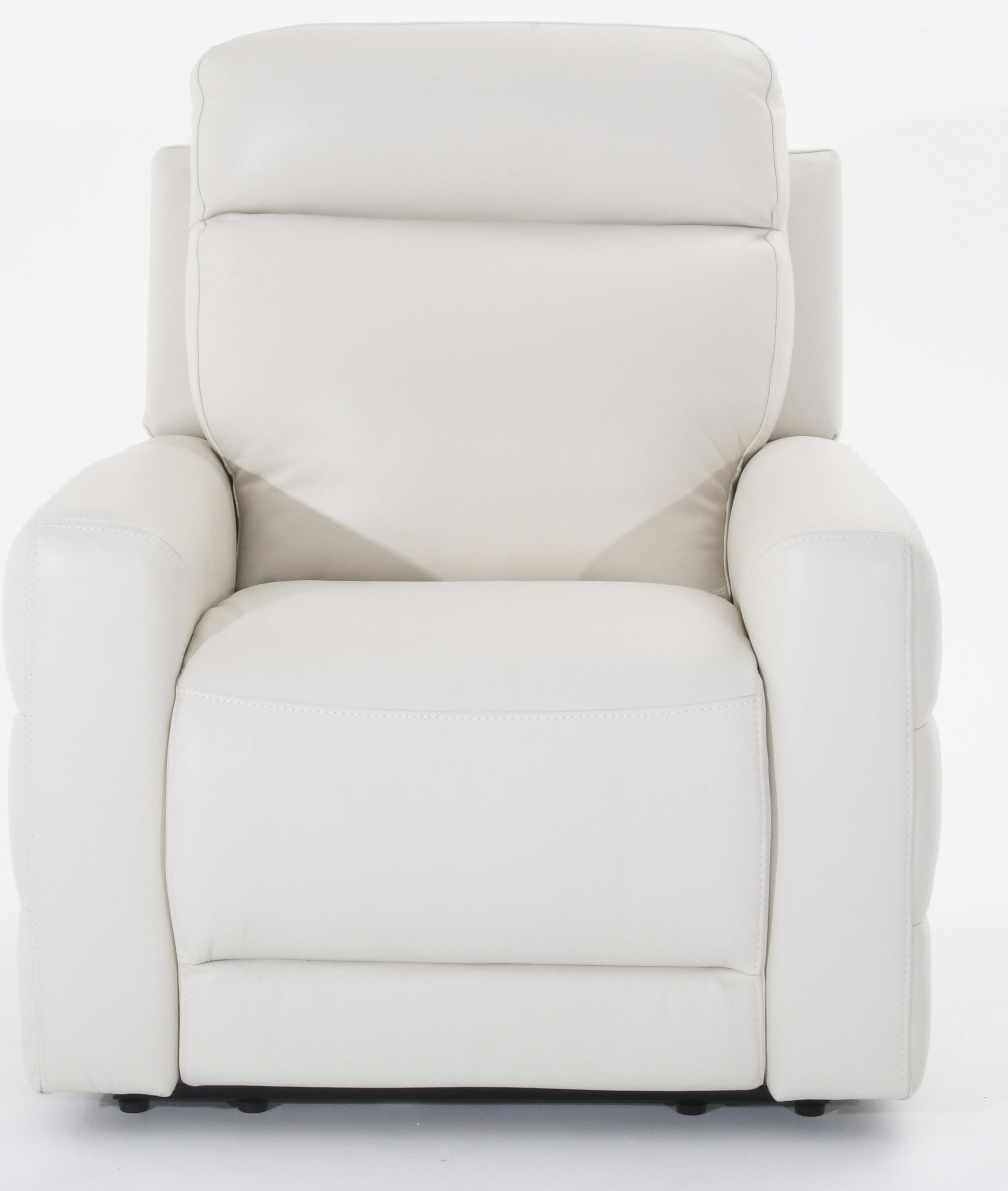 Benevolo Leather Power Reclining Chair by Natuzzi Editions at Baer's Furniture