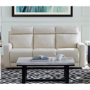 Leather Power Sofa