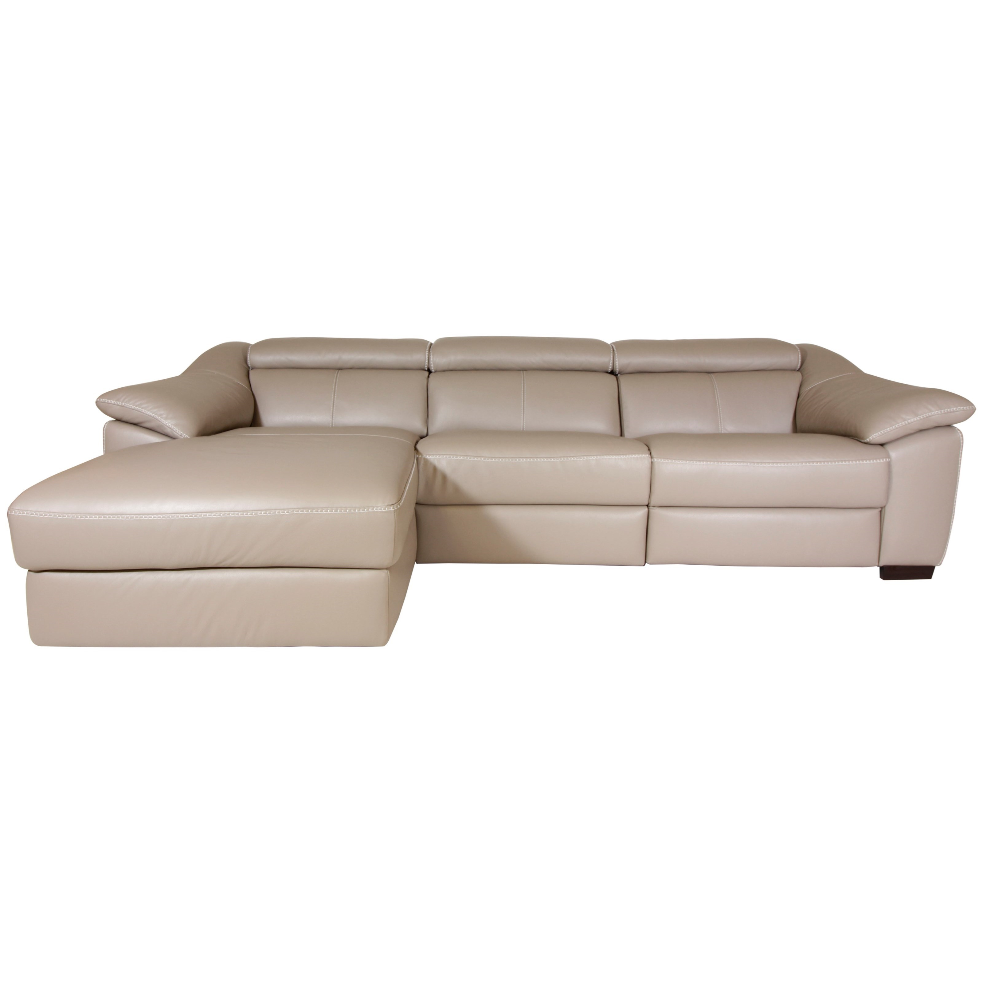 Emozione 3-Piece Power Reclining Sectional by Natuzzi Editions at Wilson's Furniture
