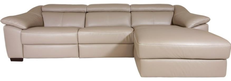 Emozione Power Reclining Sectional by Natuzzi Editions at HomeWorld Furniture