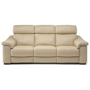 Casual Power Reclining Sofa with USB Port