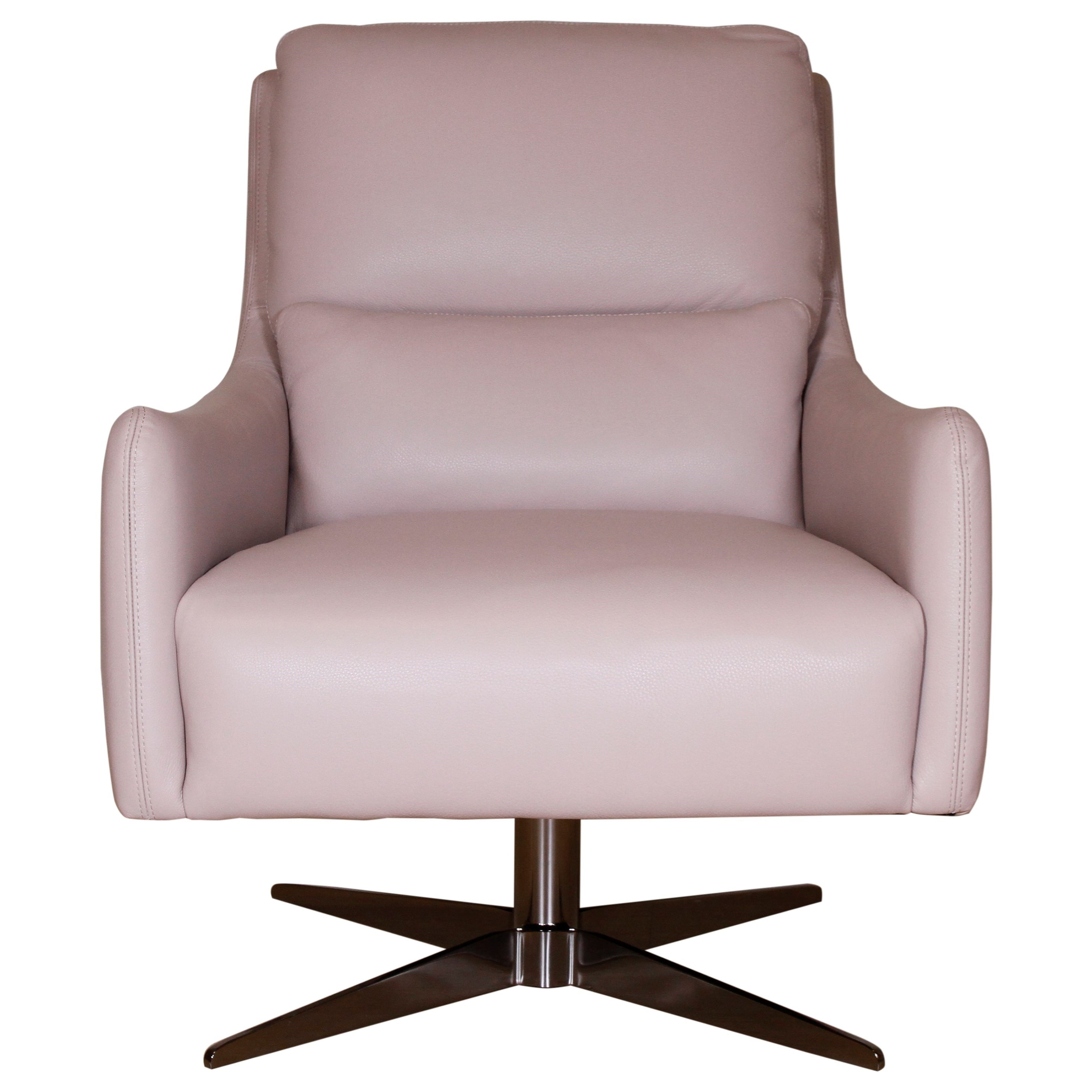 Gloria Swivel Chair by Natuzzi Editions at Red Knot