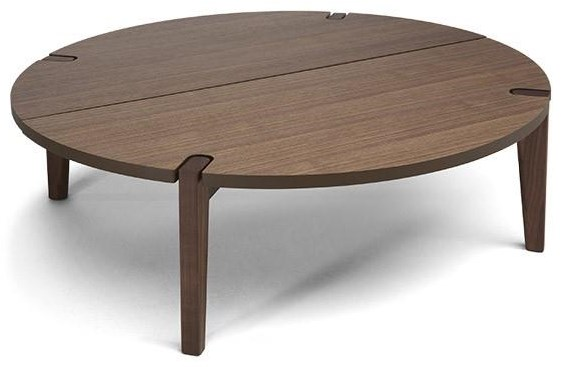 Merlot Coffee Table by Natuzzi Editions at Red Knot