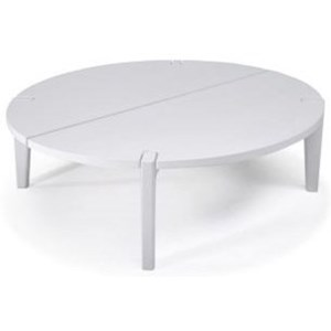 Round Table with Central Cut