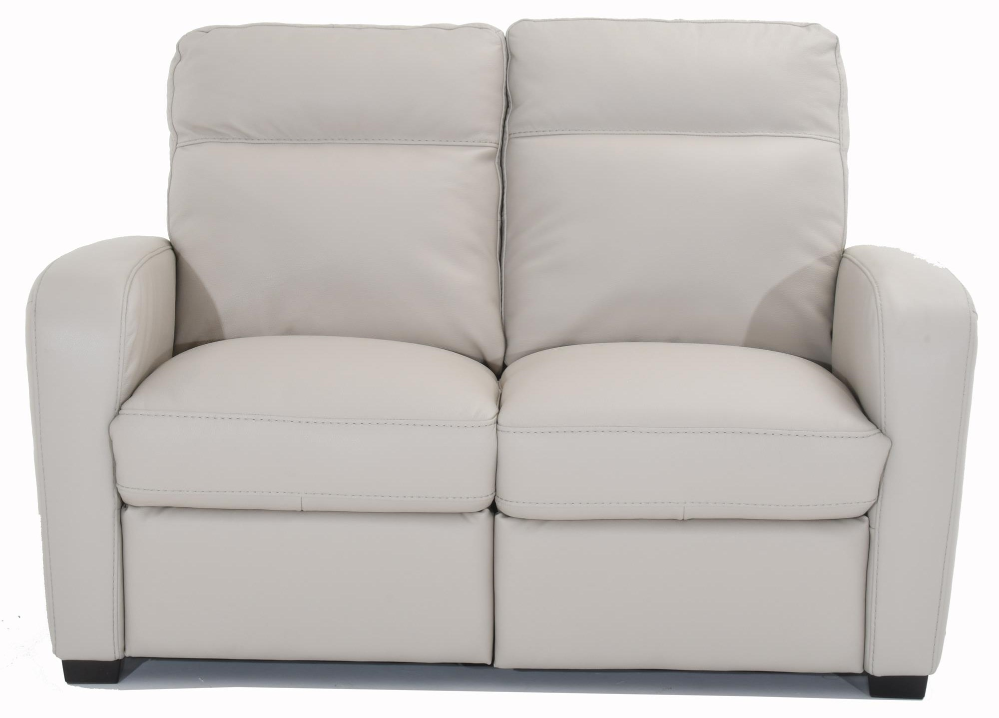 Accoglienza Leather Power Reclining Loveseat by Natuzzi Editions at Baer's Furniture