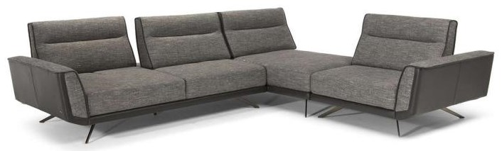 Sublime Sectional by Natuzzi Editions at HomeWorld Furniture