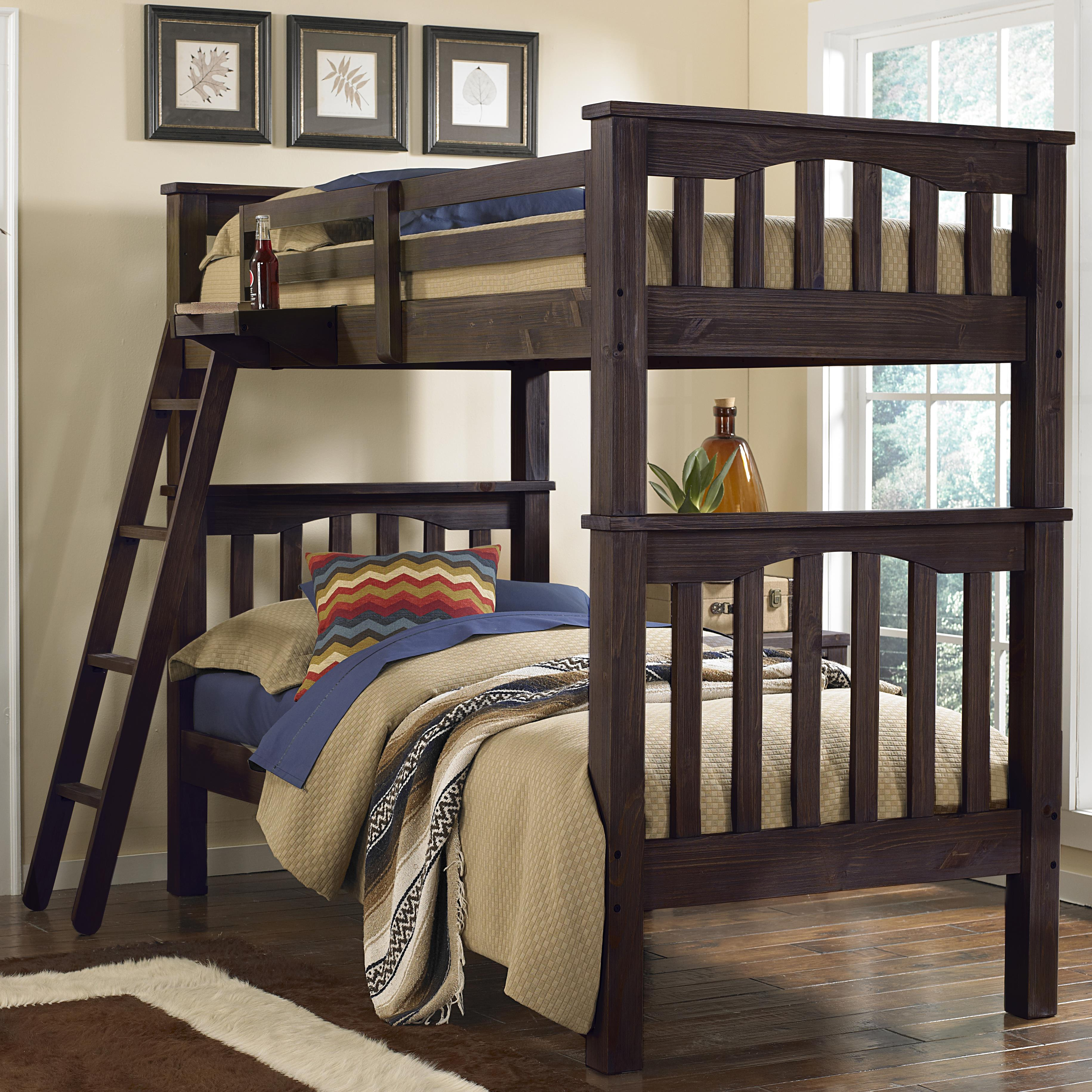 Highlands Twin Over Twin Harper Bunk Bed by NE Kids at Stoney Creek Furniture