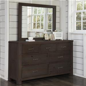 NE Kids Highlands Dresser and Mirror