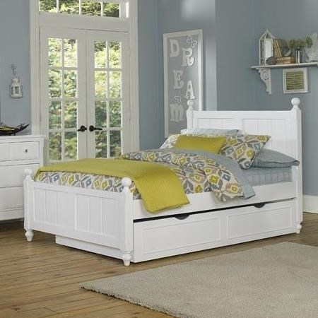 Lake House Full Bed and Trundle by NE Kids at Furniture Barn