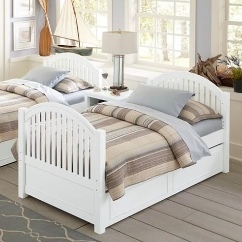 Lake House Adrian Twin Bed + Trundle by NE Kids at Stoney Creek Furniture