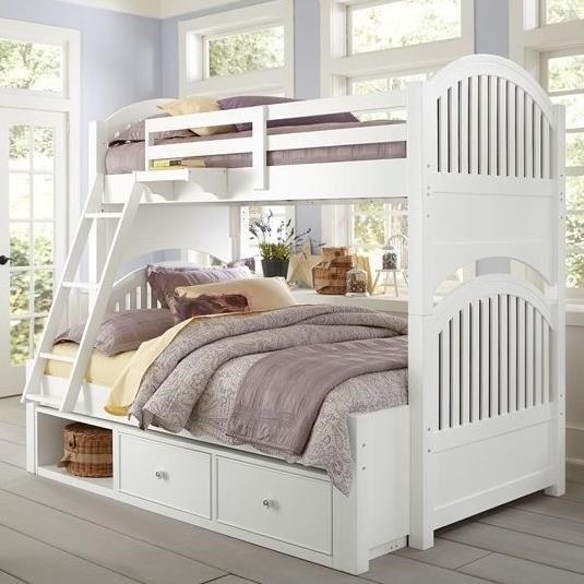 Lake House Adrian Twin over Full Bunk by NE Kids at Stoney Creek Furniture