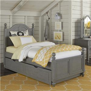 NE Kids Lake House Twin Bed and Trundle