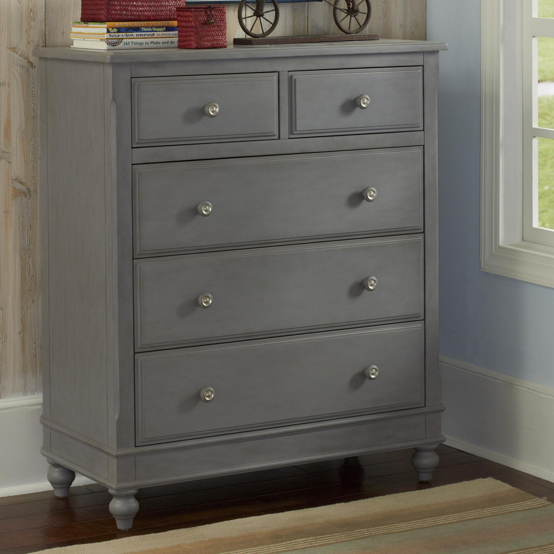 Lake House 5 Drawer Chest by NE Kids at Darvin Furniture