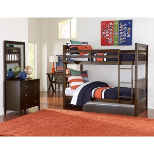 Twin Bunk Bed Room Group