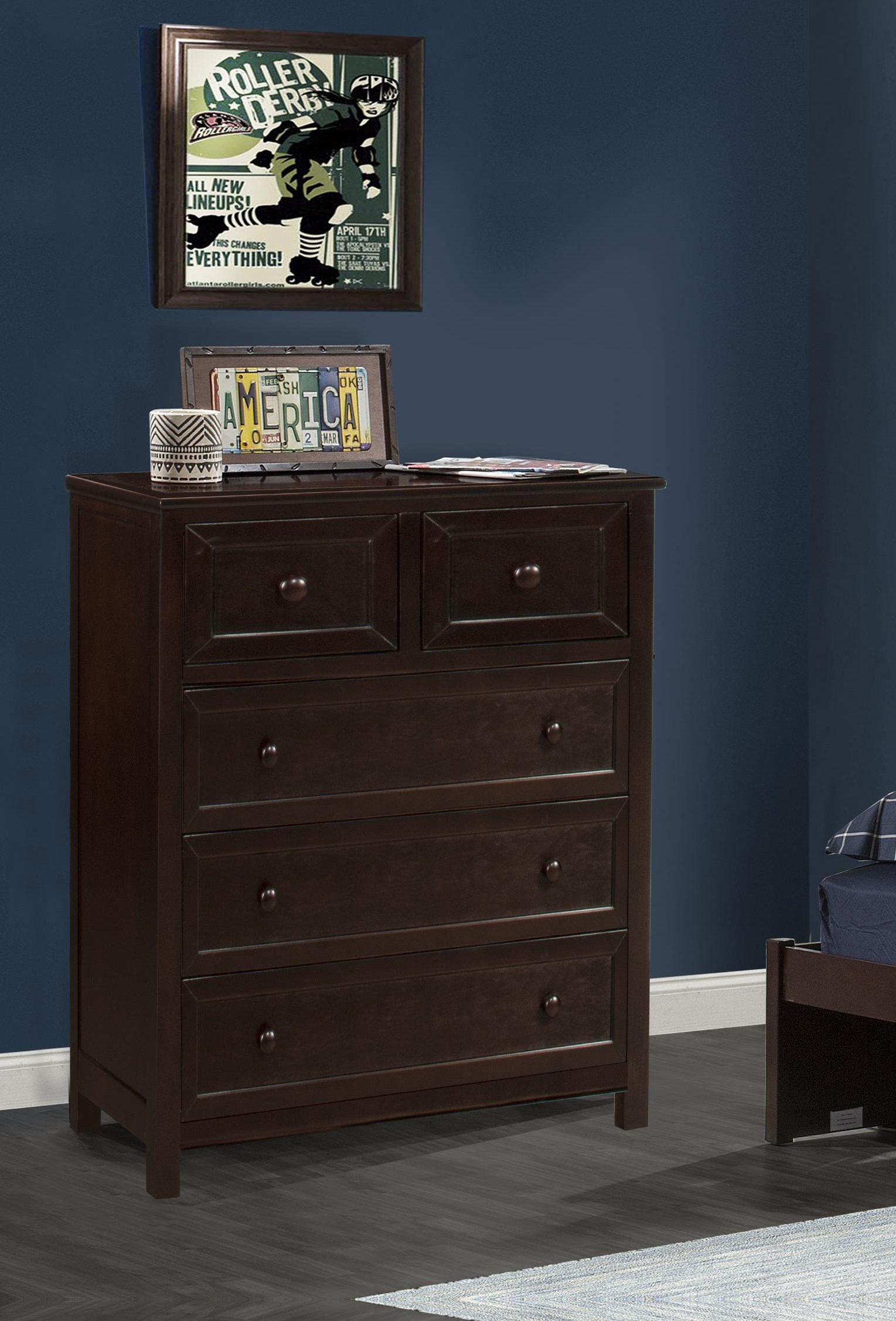 Schoolhouse 4.0 4 Drawer Chest at Ruby Gordon Home