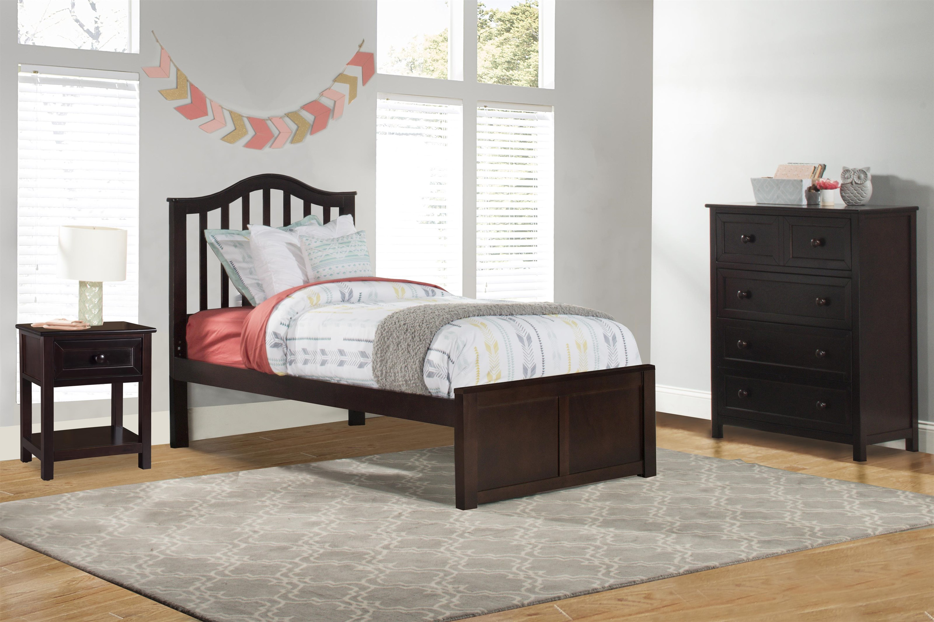 Schoolhouse 4.0 Youth Twin Bed at Ruby Gordon Home