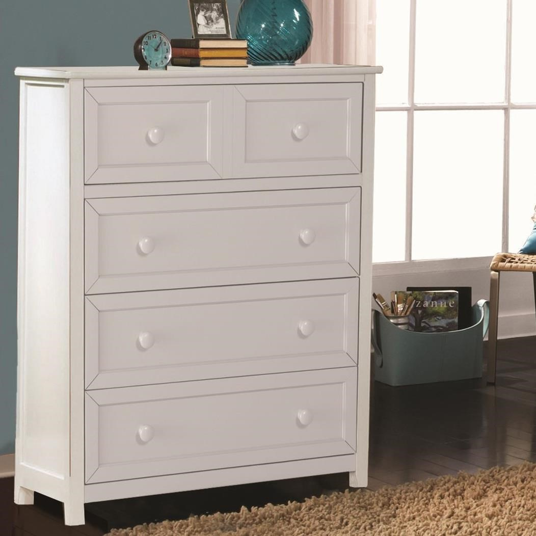 Schoolhouse 4.0 4-Drawer Chest by NE Kids at Darvin Furniture