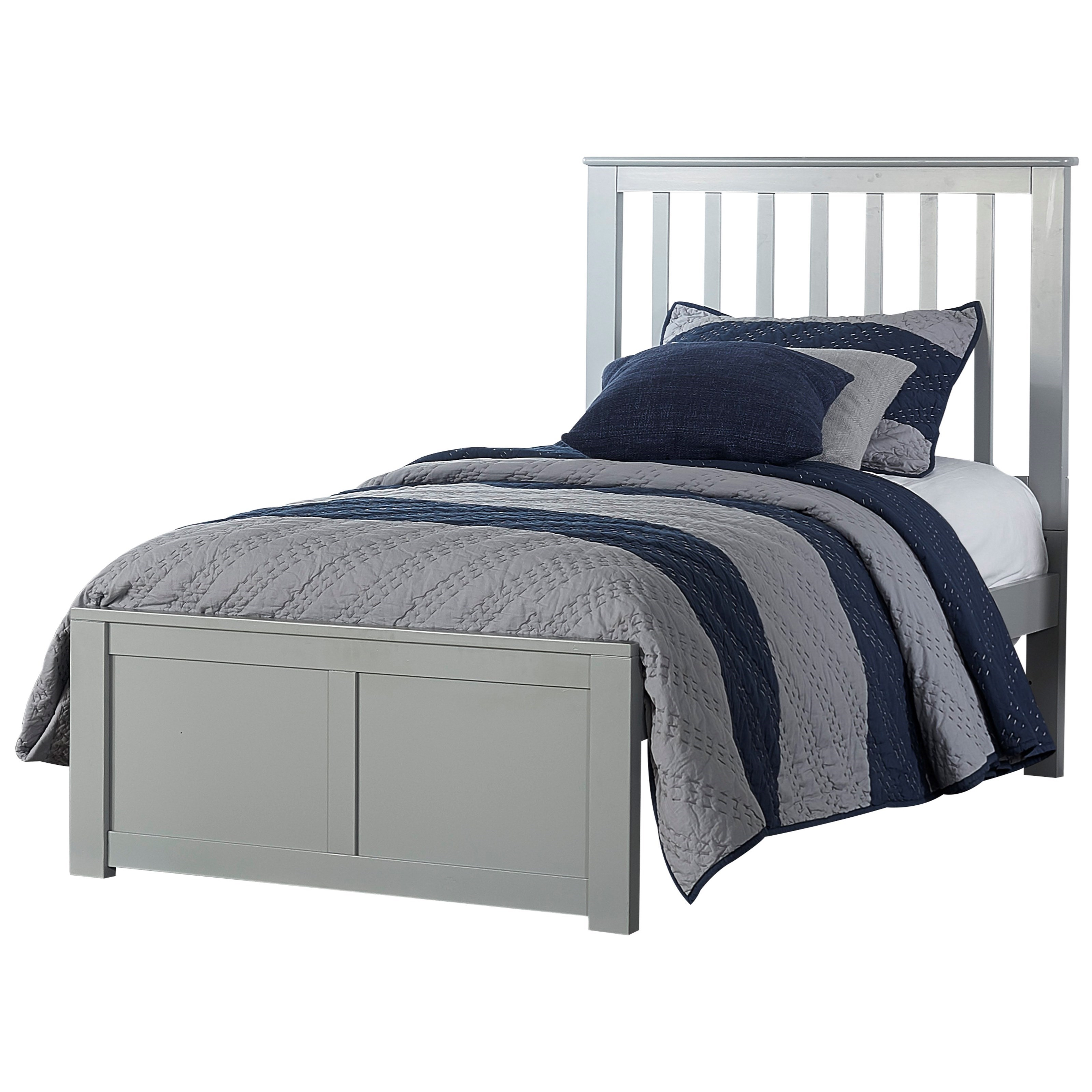 Schoolhouse 4.0 Twin Mission Bed by NE Kids at Darvin Furniture