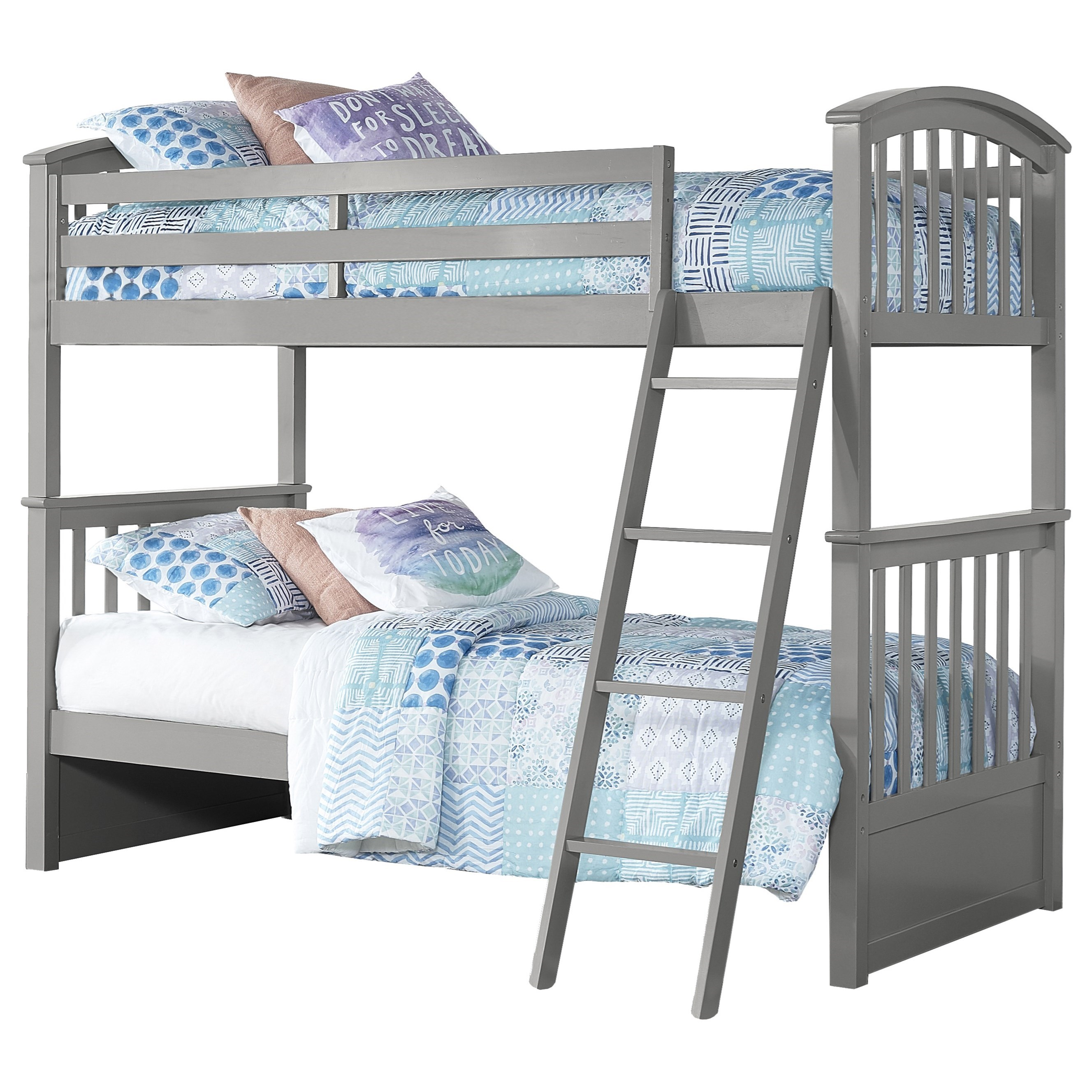 Schoolhouse 4.0 Twin Over Twin Bunk Bed by NE Kids at Darvin Furniture
