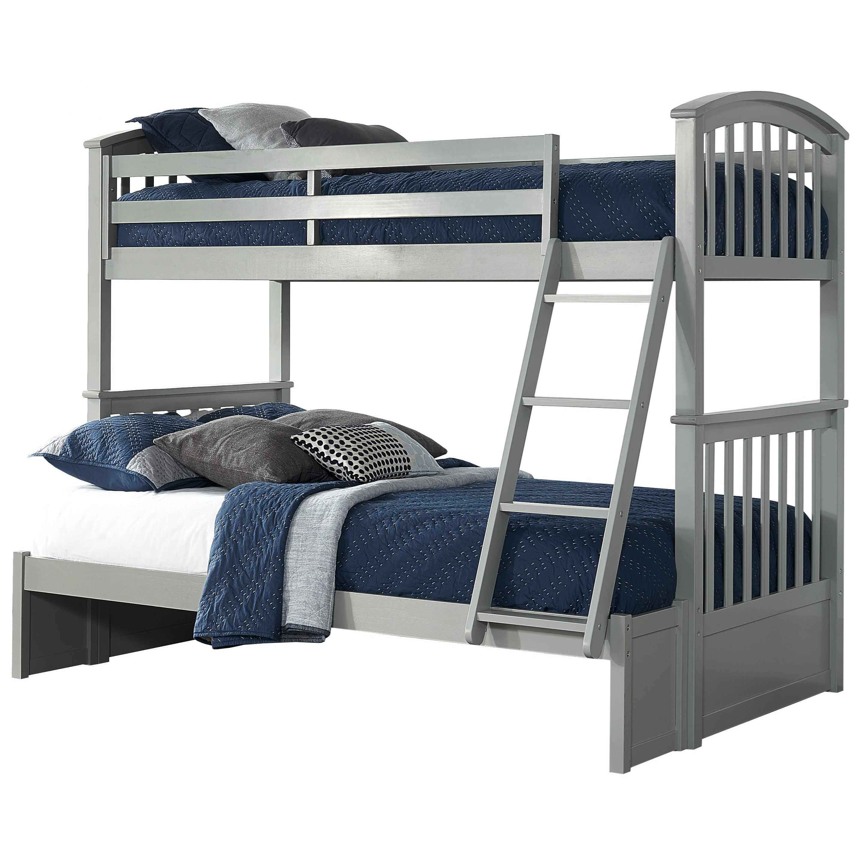Schoolhouse 4.0 Twin Over Full Bunk Bed by NE Kids at Darvin Furniture