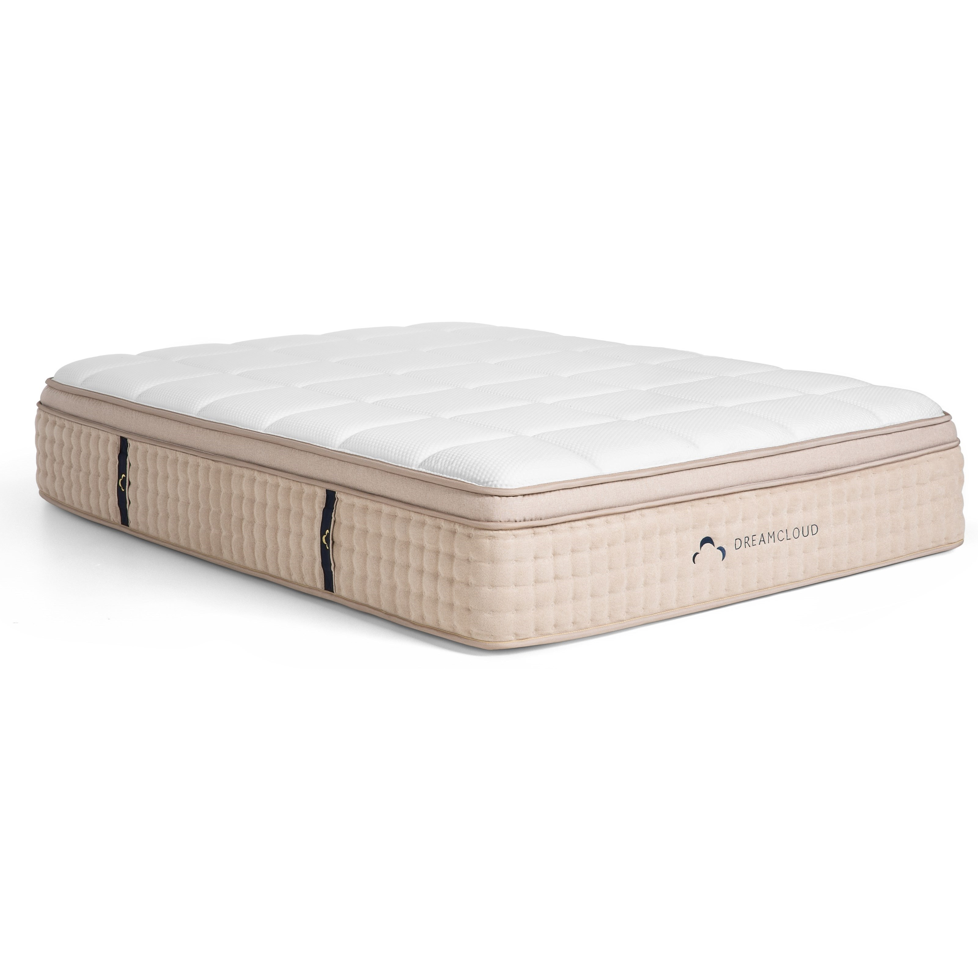 "Dream Cloud Mattress Original King 15"" Euro Top Hybrid Mattress by DreamCloud at Virginia Furniture Market"