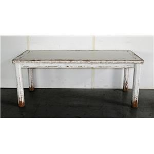 Sienna Dining Table Antique White