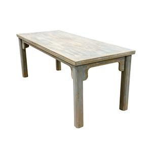 Dining Table in Grey/Blue