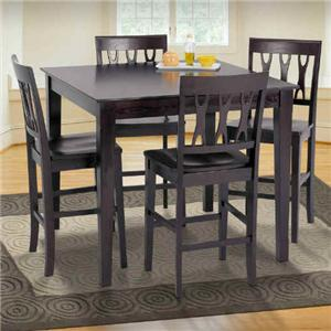 New Classic Abbie 5 Piece Table and Chairs