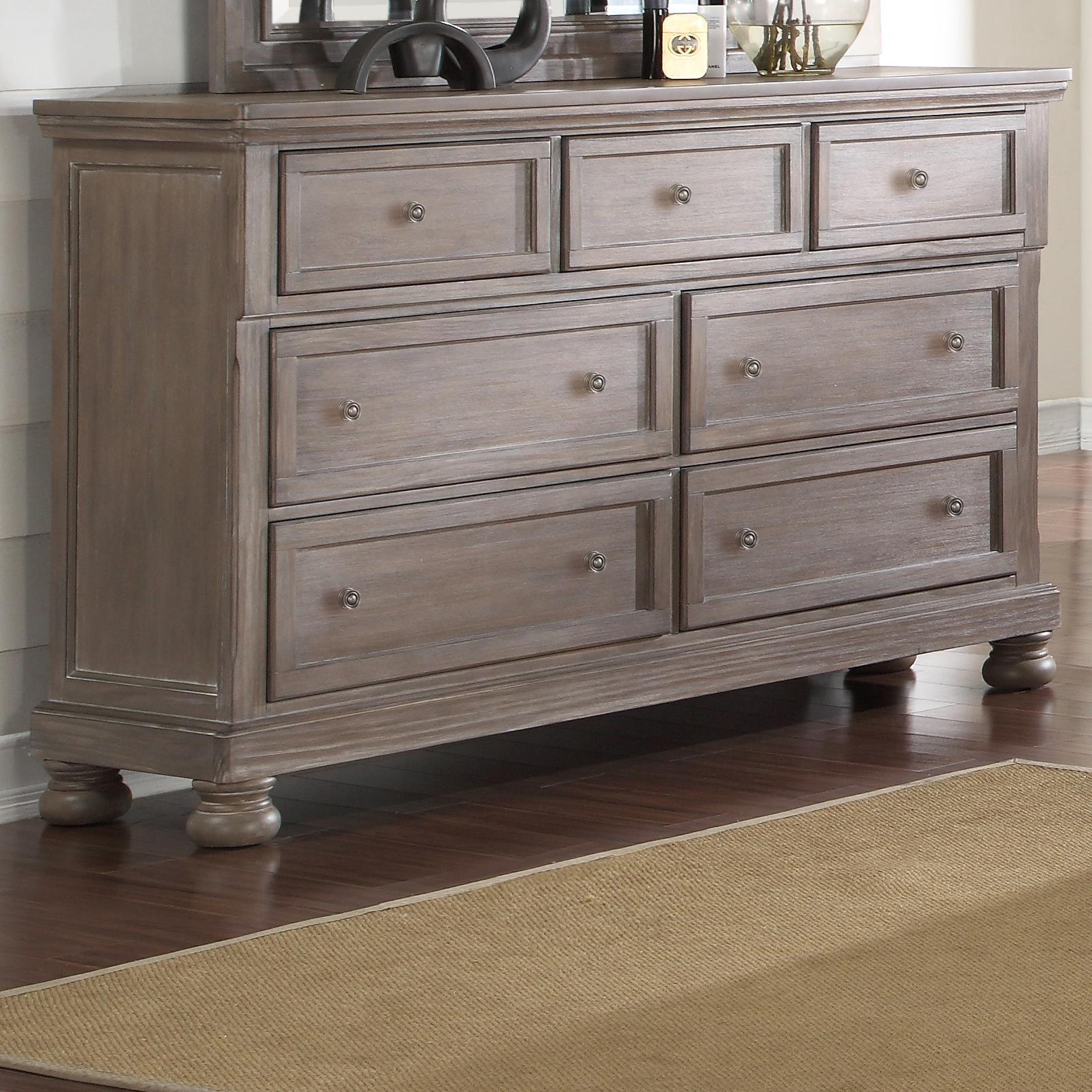 Allegra Dresser by New Classic at Wilcox Furniture