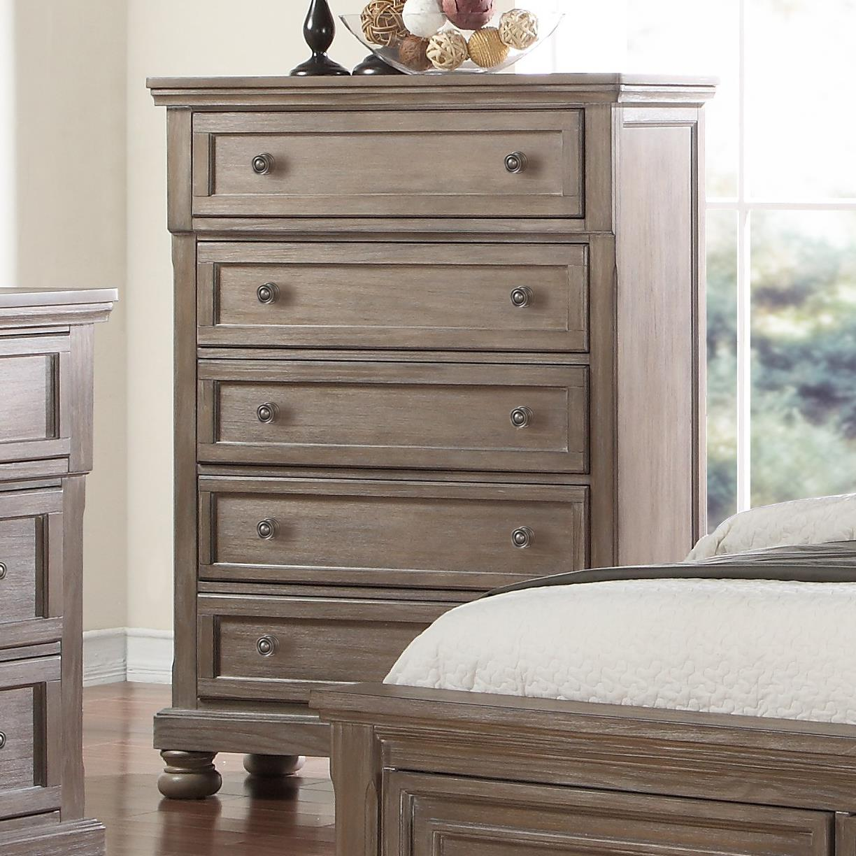Allegra Chest of Drawers by New Classic at Darvin Furniture