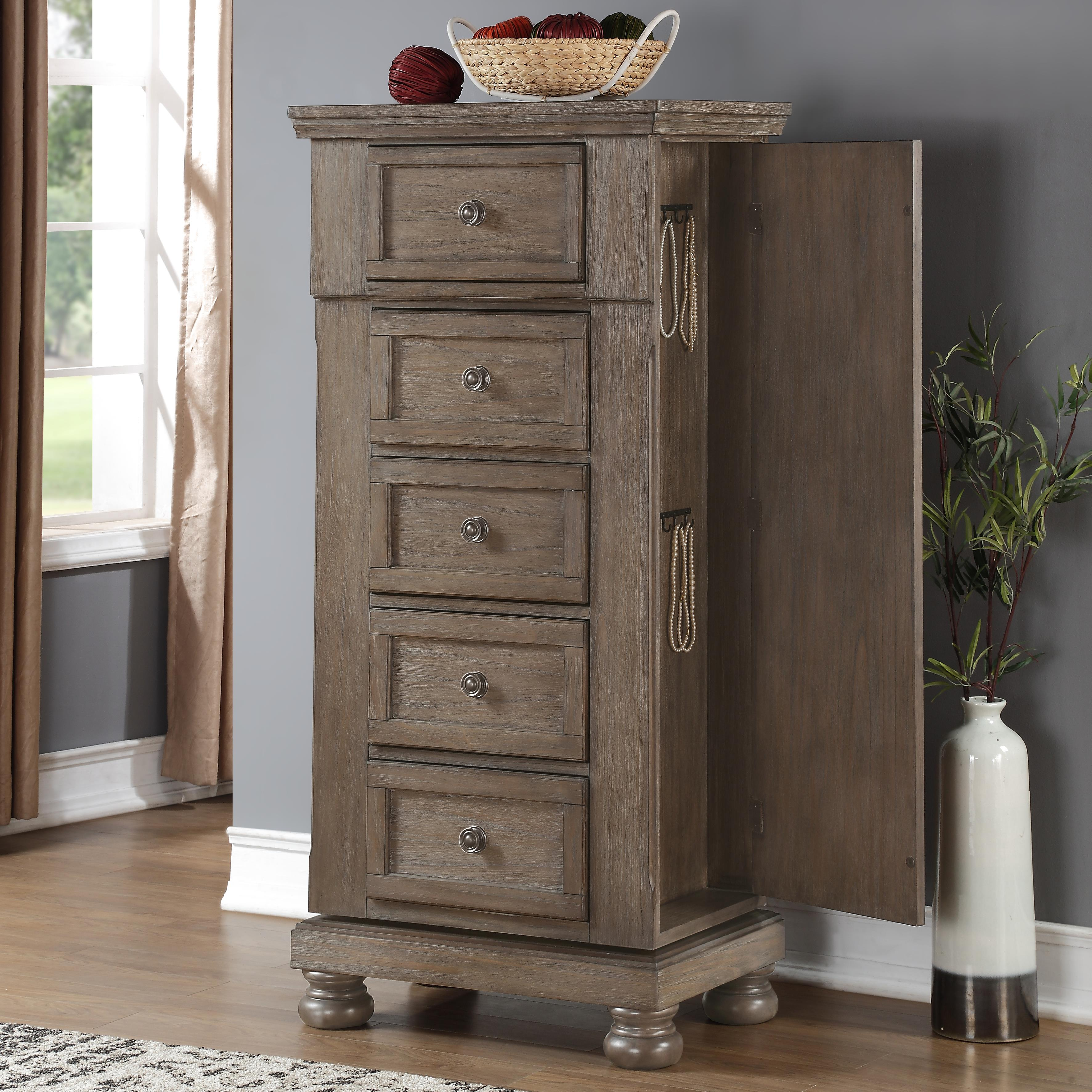 Allegra Swivel Chest by New Classic at Beds N Stuff