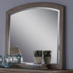 Youth Bedroom Arched Dresser Mirror