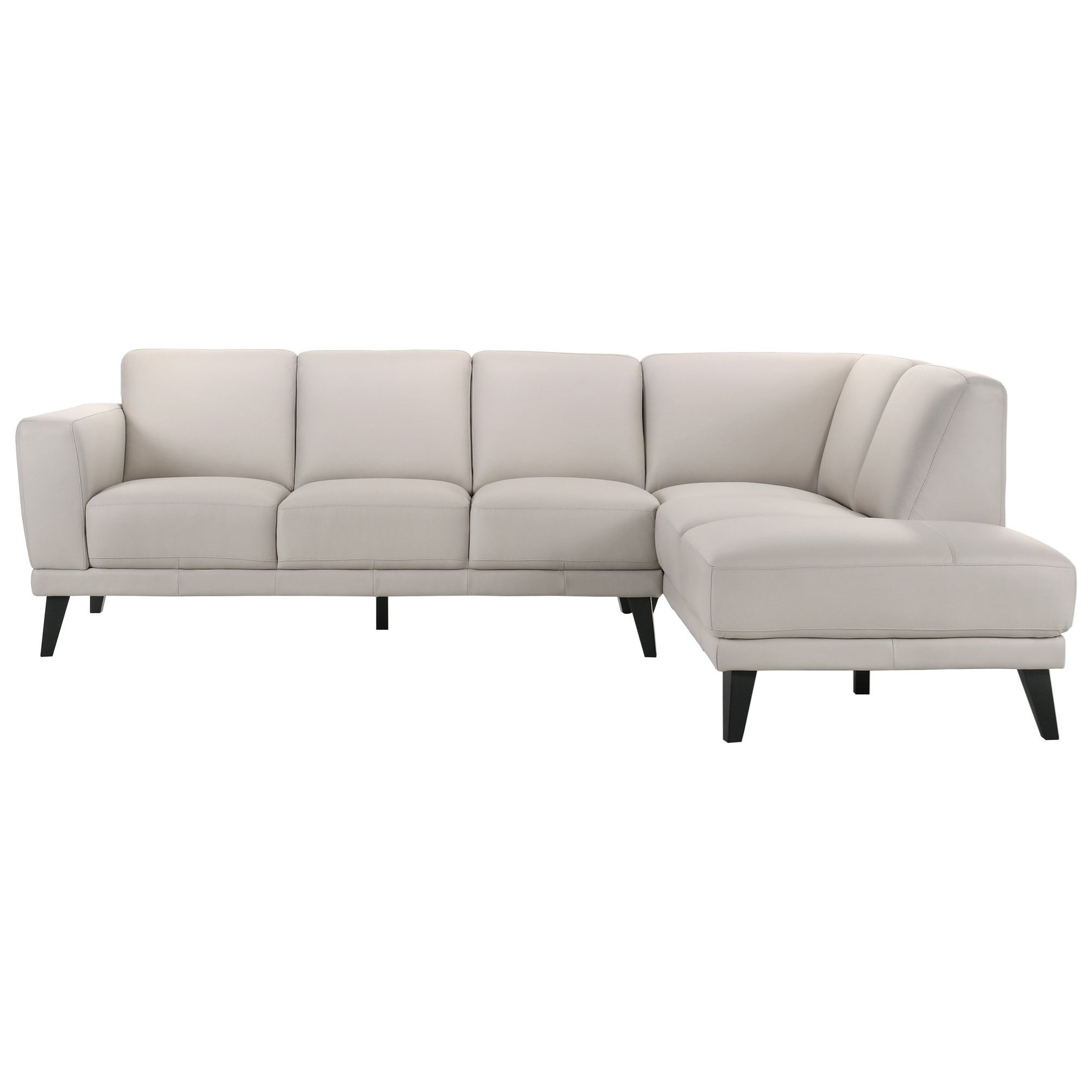 Altamura 5-Seat Sectional w/ RAF Chaise by New Classic at Carolina Direct