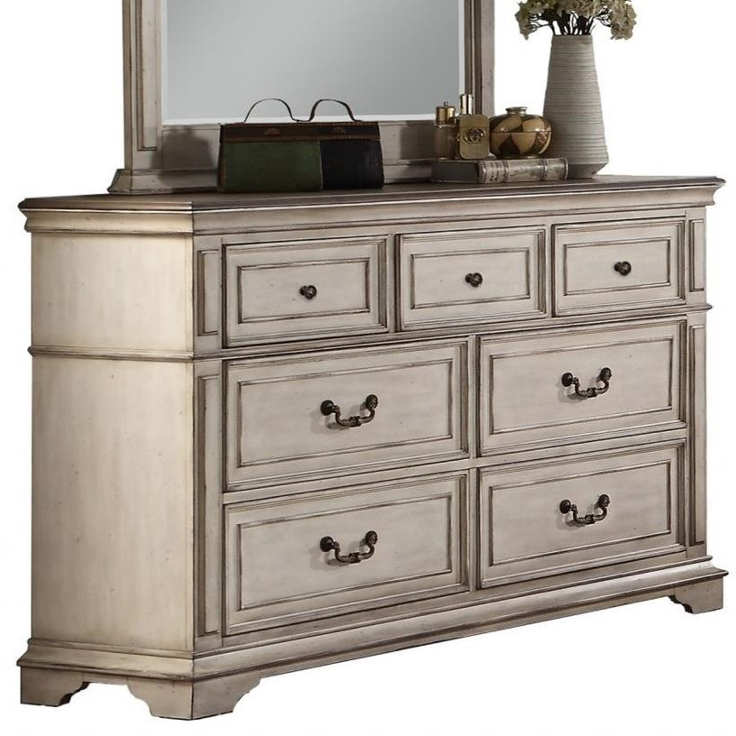 Anastasia Dresser by New Classic at Beds N Stuff