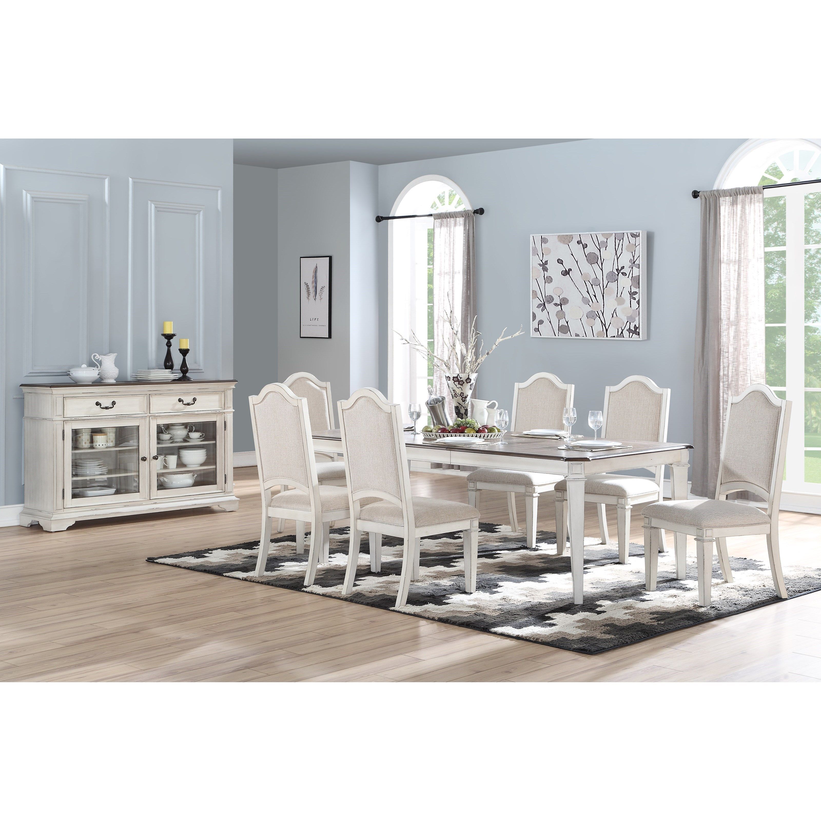 Anastasia Dining Room Group by New Classic at Carolina Direct