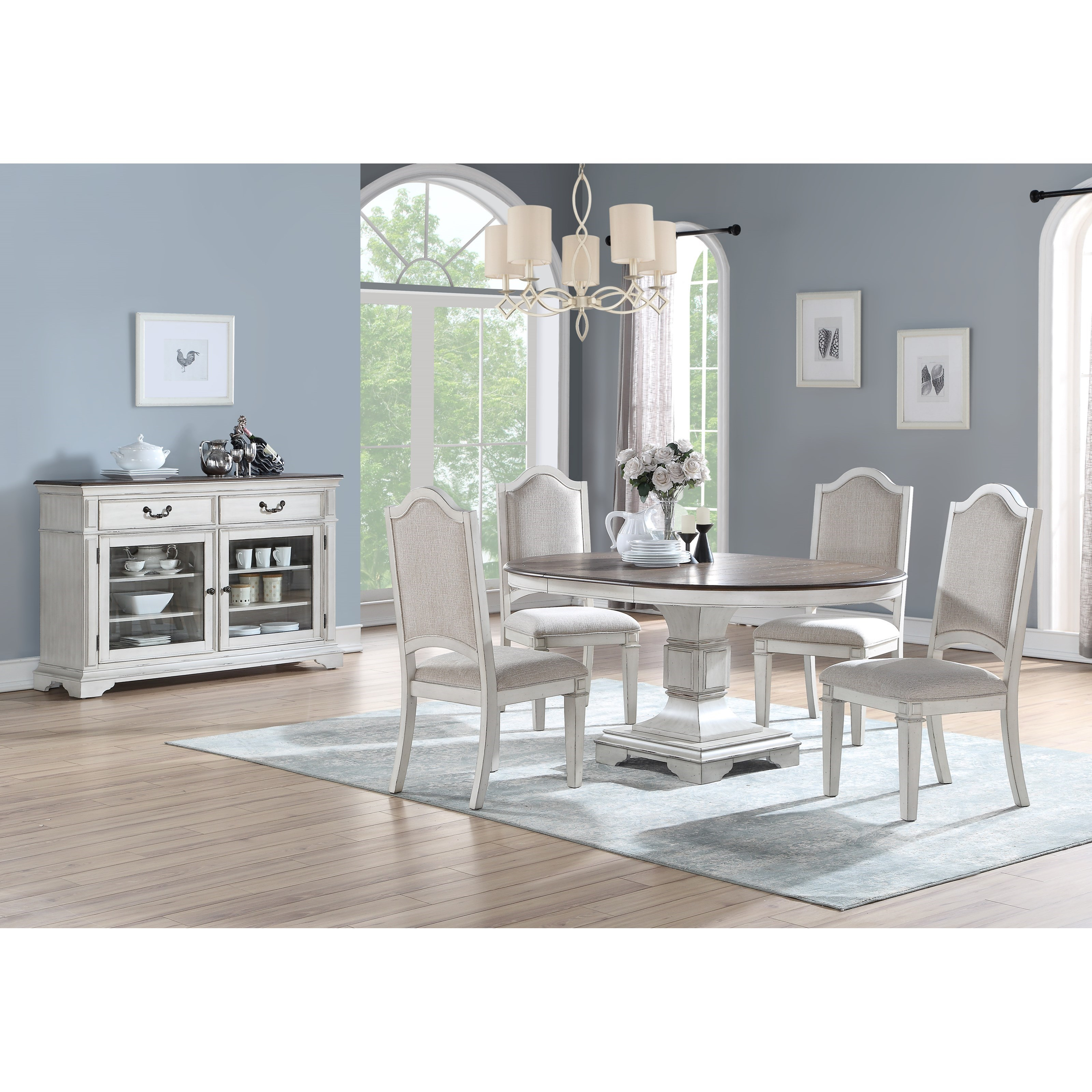 Anastasia Dining Room Group by New Classic at Rife's Home Furniture