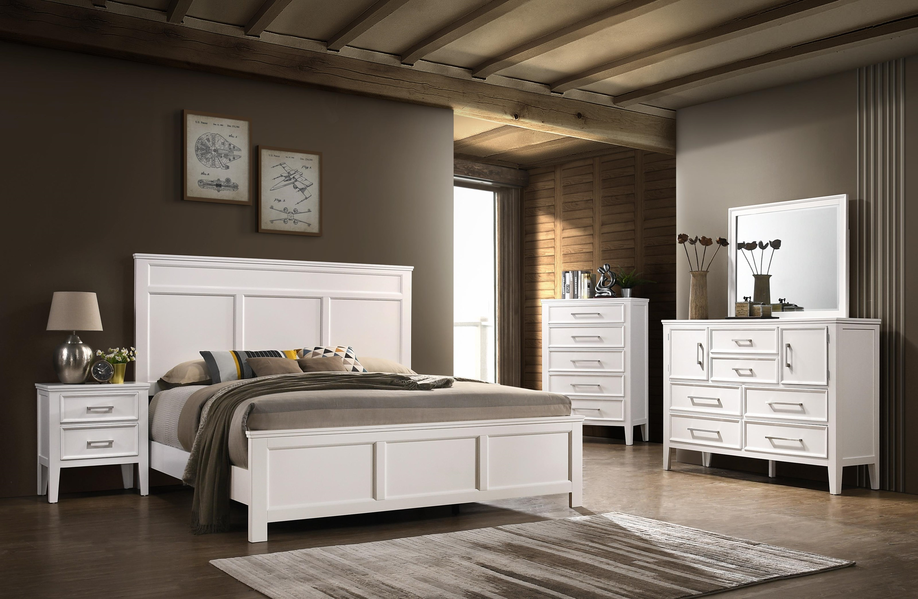 Andover Cal-King Bedroom Group by New Classic at Furniture Superstore - Rochester, MN