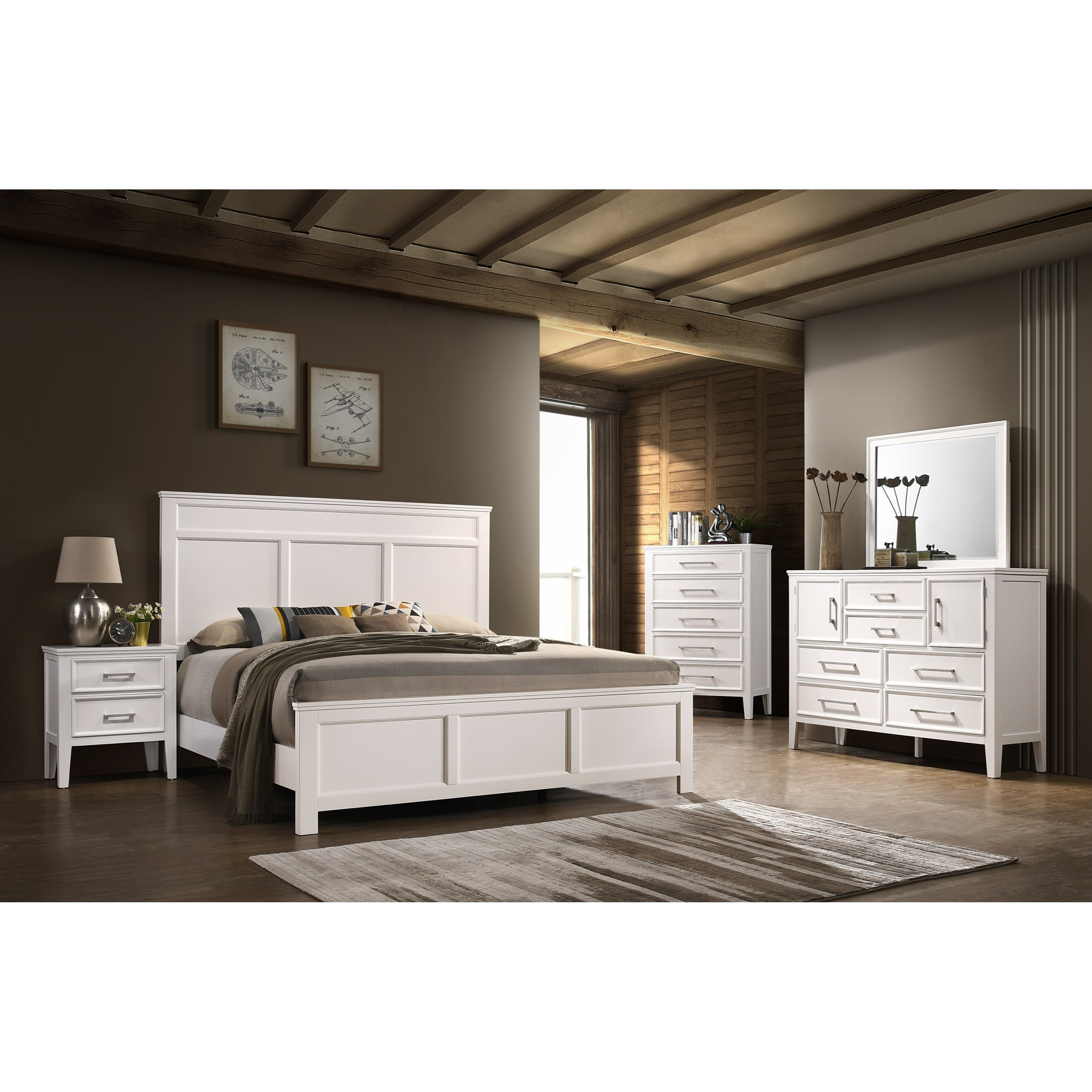 Andover Queen Bedroom Group by New Classic at Carolina Direct