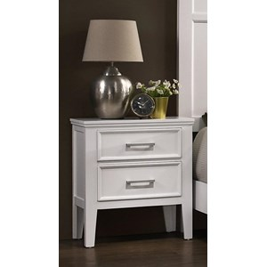 Transitional Nightstand