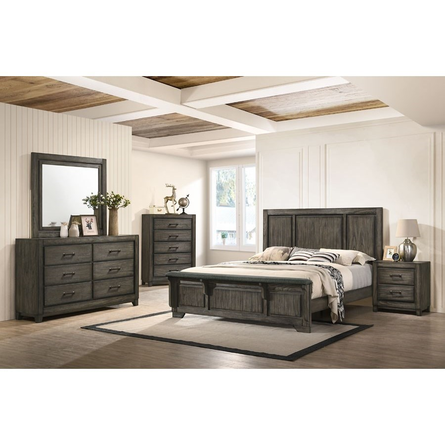 Ashland Queen Bedroom Group by New Classic at Beds N Stuff
