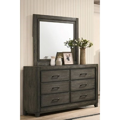 Ashland Dresser and Mirror Set by New Classic at Beds N Stuff