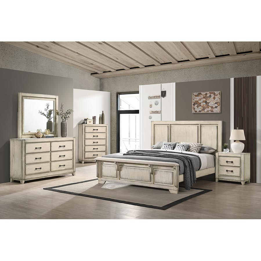 Ashland King Bedroom Group by New Classic at Beds N Stuff