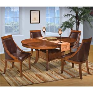 Round Dining Table Set w/ Base