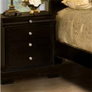 Four-Drawer Night Stand