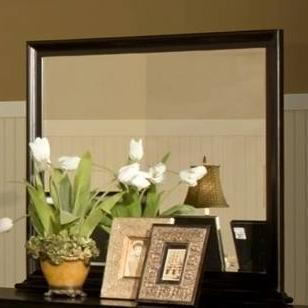 Belle Rose Landscape Mirror by New Classic at Rife's Home Furniture