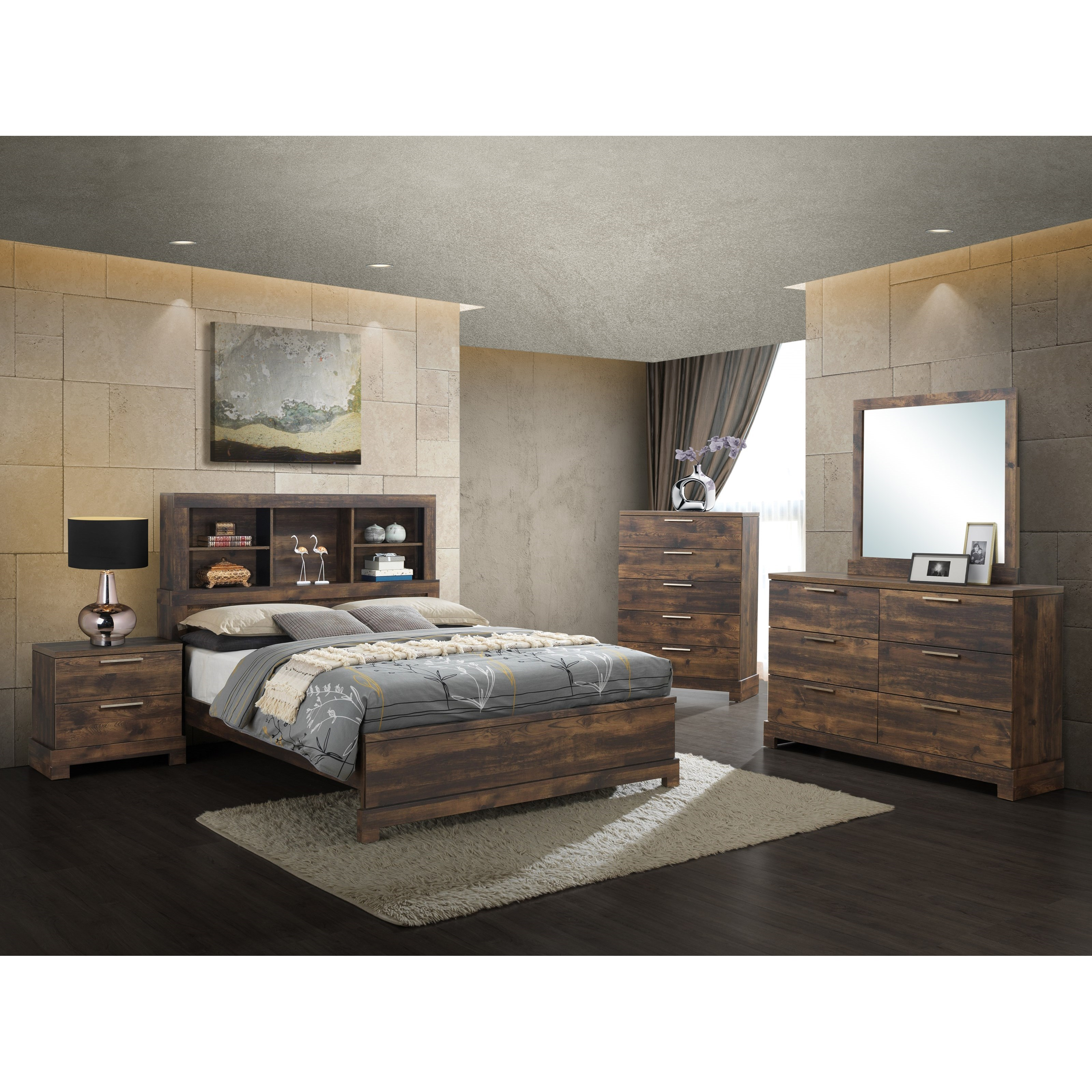 Campbell King Bedroom Group by New Classic at Rife's Home Furniture